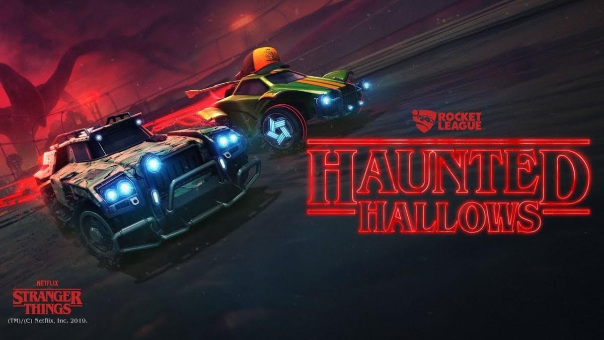 Rocket League Presents Haunted Hallows