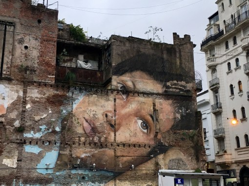 Even crumbling facades are works of art, Monserrat, Buenos Aires