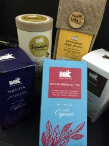 An assortment of KK Teas