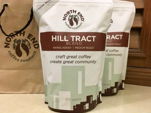 North End Hill Tract Blend coffee beans