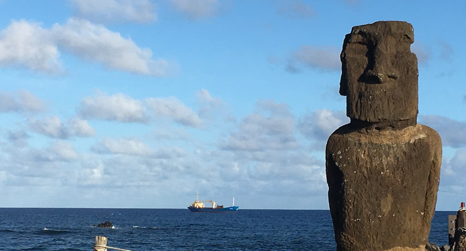 Seed Launching Pad >> Hanga Roa Launching Pad For Visiting The Moai Samai Haider