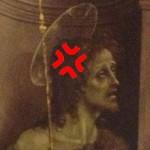 John the Baptist - angry