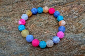 AGAT TRAWIONY MULTICOLOR MIX