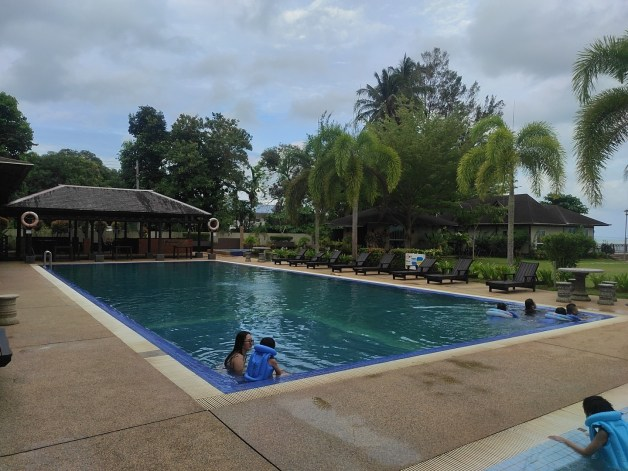 swimming pool at union yes retreat and training centre
