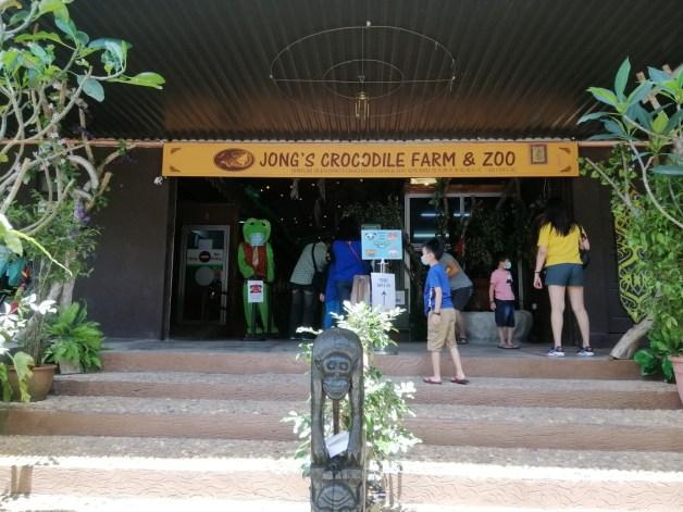 Jong's Crocodile Farm and Zoo entrance