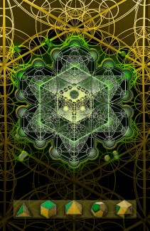 Endless geometric images