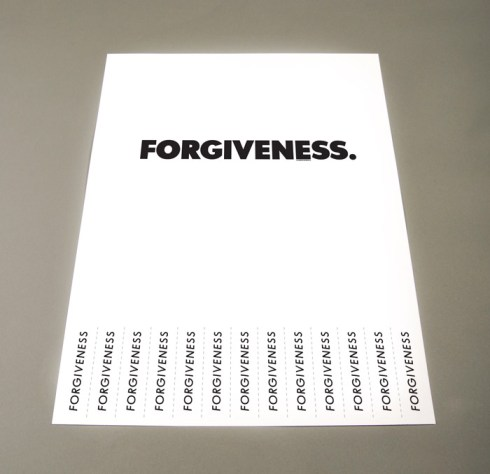 Power to the Poster: Forgiveness
