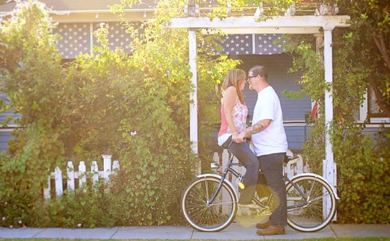 Matt and Amie's bike Engagement Pictures in Orange Circle_0381