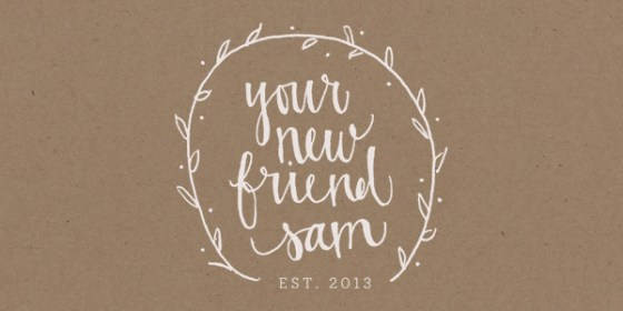 your new friend sam-blog