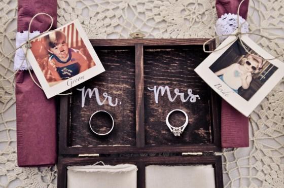 Harvard Photography ring box