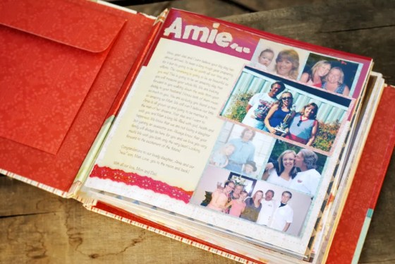 gift for the bride letter scrapbook_0999