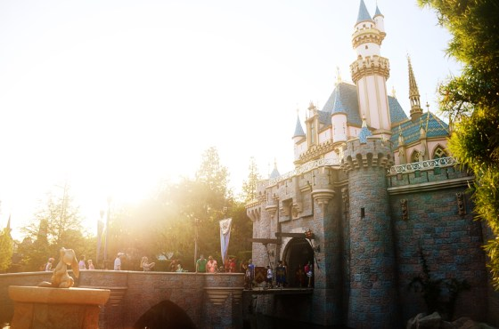 disneyland sleeping beauty castle april 2014