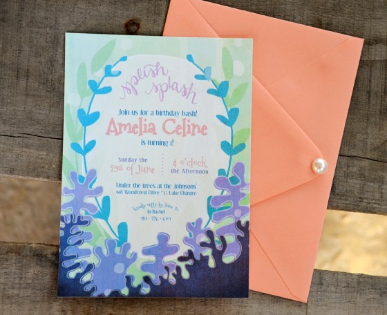 your new friend sam splish splash under the sea birthday invitation printable 137 etsy