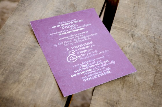 Your New Friend Sam Etsy Typography Wedding Vows 426