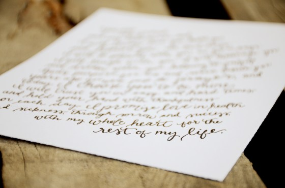 Your New Friend Sam Etsy Whimsical Handwritten Wedding Vows 128