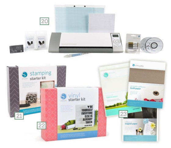 28 wishes silhouette cameo list
