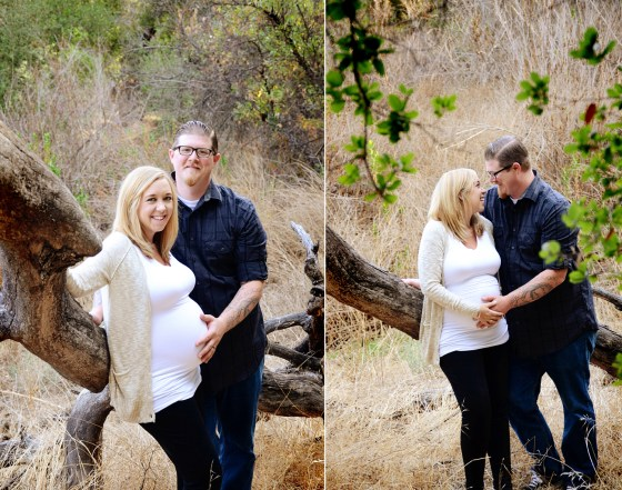Santa Rosa Plateau Maternity Photography | Amie and Matt 1