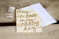 Cream with Gold Glitter Embossing