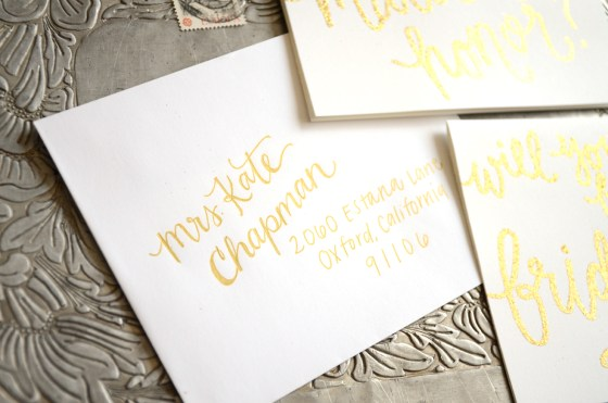 Bridesmaid Bridal Party Invitations by Your New Friend Sam - Envelope Addressing