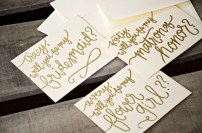 Personalized with Bridal Party Member's Names