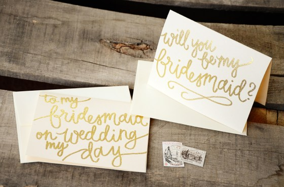 your new friend sam glitter embossed bridesmaid invitations8038