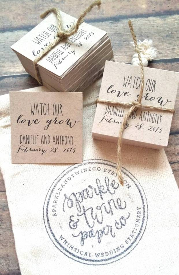 Sparkle and Twine Muslin Bag and Tags