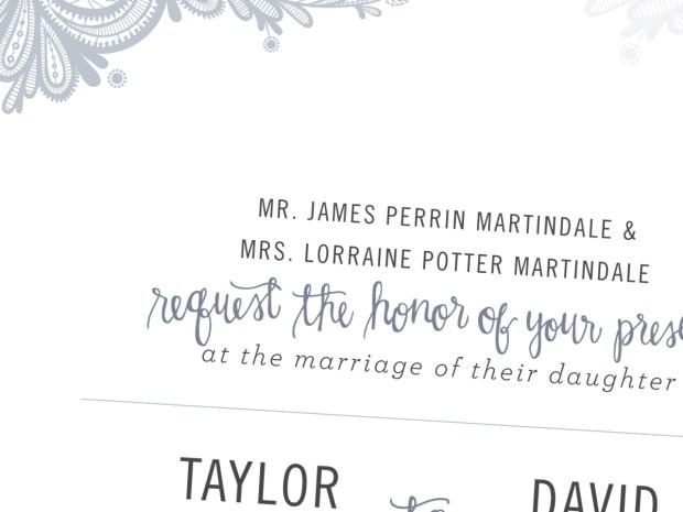 taylors wedding invitation sneak peek