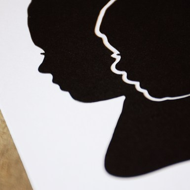 Papercut Silhouette from Your New Friend Sam on Etsy 75