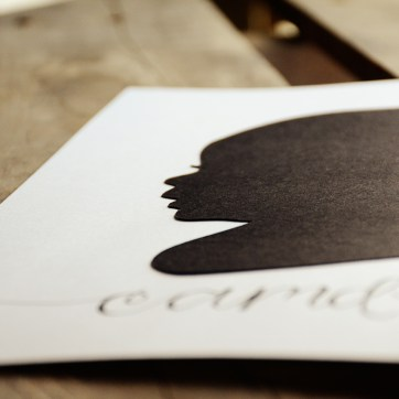 Your New Friend Sam Papercut Silhouette of Camden 661