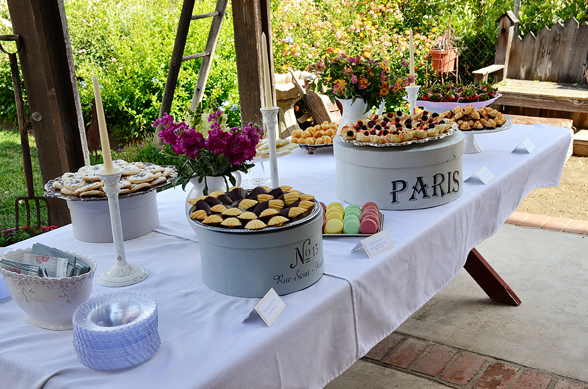 ... french country baby shower bebe soiree dessert table 3 ...