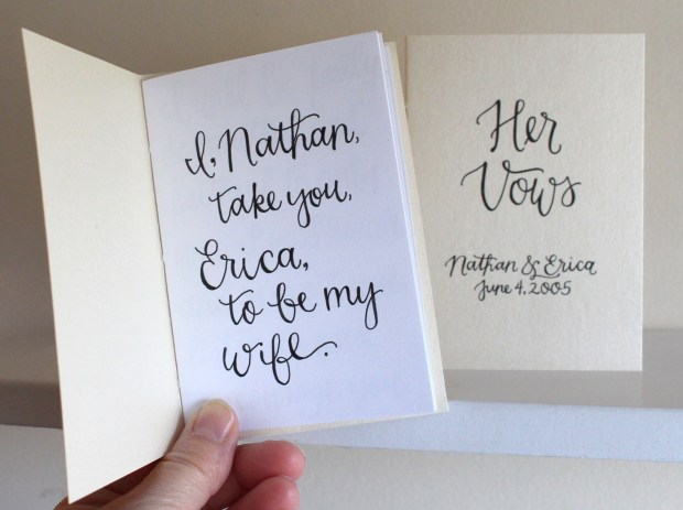Your New Friend Sam and Jotters and Journals His and Her Vows