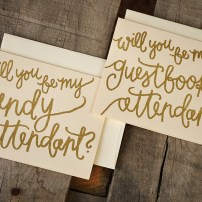 Your New Friend Sam - Candy and Guestbook Attendant Invitations