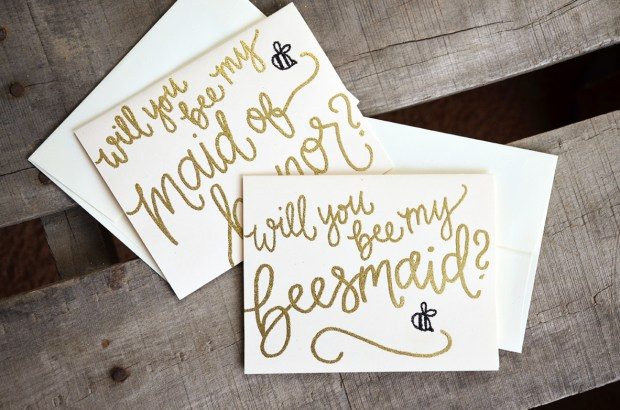 Bee Bridal Shower Invitations from Your New Friend Sam