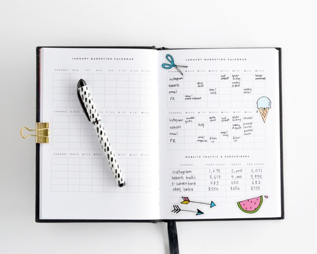 marketing-calendar-craftsposure-2016-diary