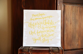 Unforgettable Handpainted Canvas