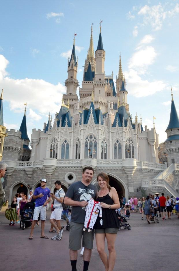Allen Baby Announcement Walt Disney World