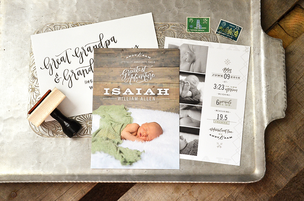 Isaiahs Birth Announcement Suite