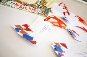 Storybook Baby Shower Bookmarks 3