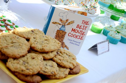 Storybook Baby Shower Cookies