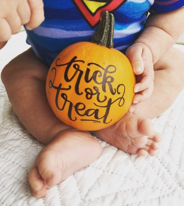 isaiah-5-months-pumpkin-trick-or-treat