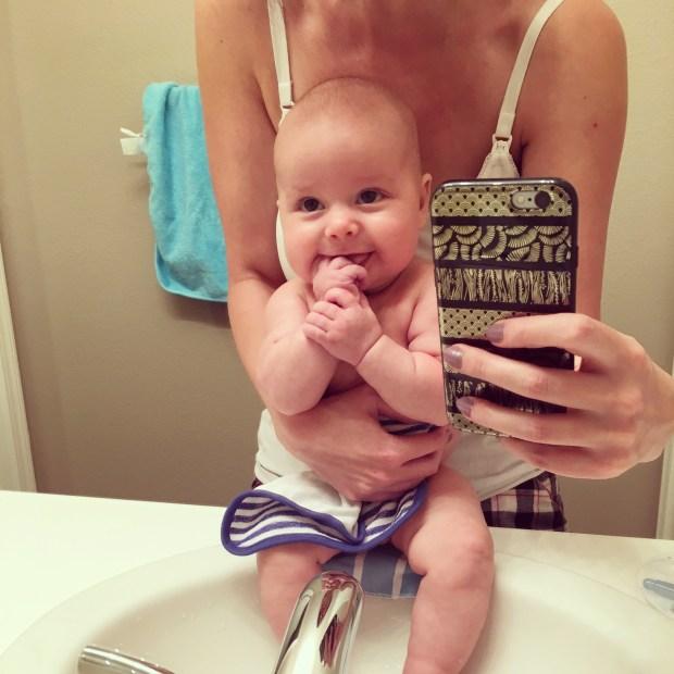 isaiah-6-months-bath