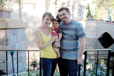 Isaiah 9 Months Disneyland