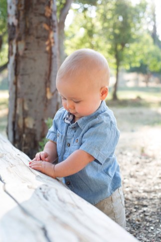 J Rose Photography - Isaiah 12 Month Portraits