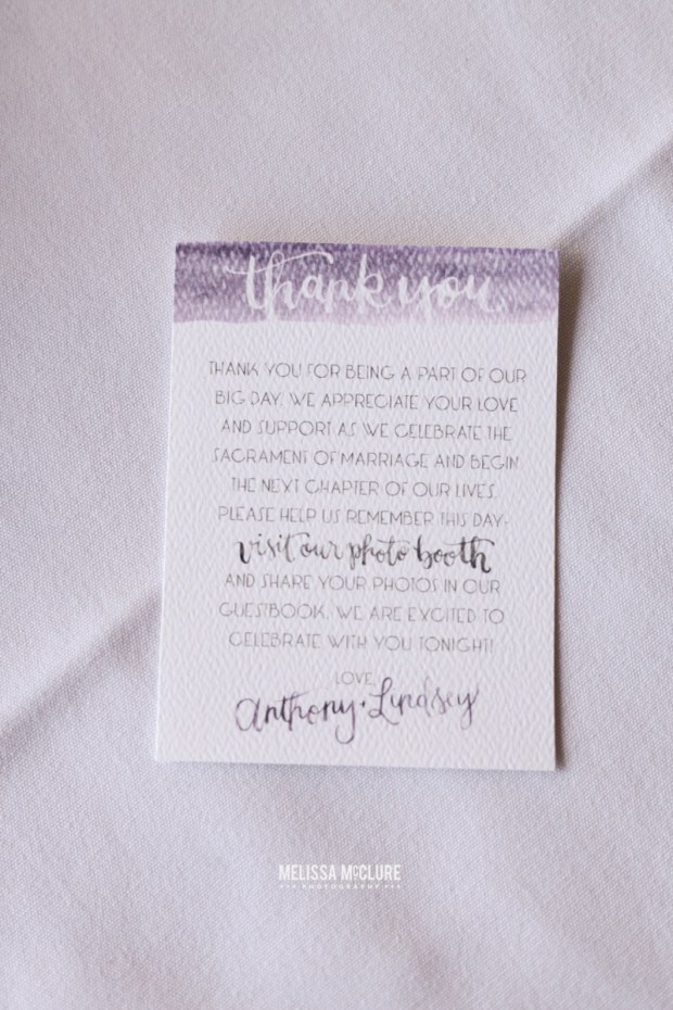 Sam Allen Creates Watercolor Wedding Thank You - Photo by Melissa McClure.jpg