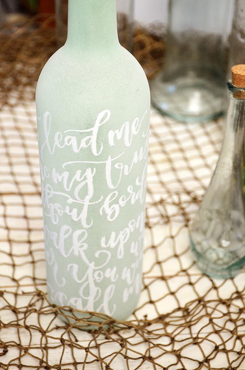 Sam Allen Creates – Isaiah's First Birthday – Under the Sea Birthday Decorations – Handlettered Bottle – Oceans lyrics 3