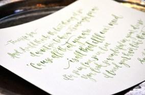 Sam Allen Creates Handpainted Watercolor Love Letters Ed Shereen Lyrics detail