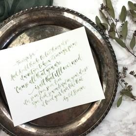 Sam Allen Creates Handpainted Watercolor Love Letters Ed Shereen Lyrics
