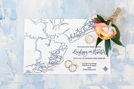 Sam Allen Creates Letterpress Wedding Invitations by Kailtin Scott Photography