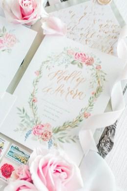 Sam Allen Creates - Disney Inspired Sleeping Beauty Wedding Invitation - Invitation Detail