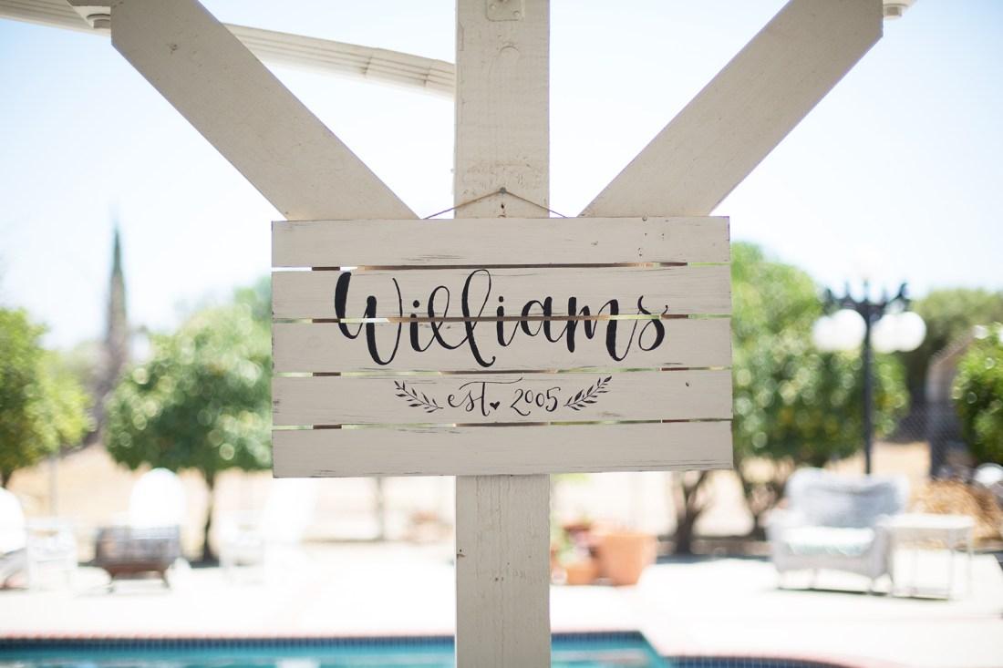 Sam Allen Creates - Family Established Wood Sign
